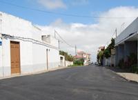 Asfaltado de calles en San Matías