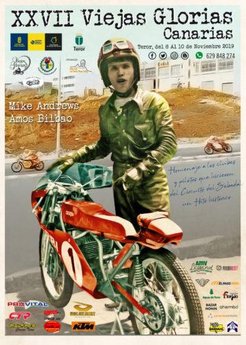 El encuentro de 'Viejas Glorias' del motociclismo canario