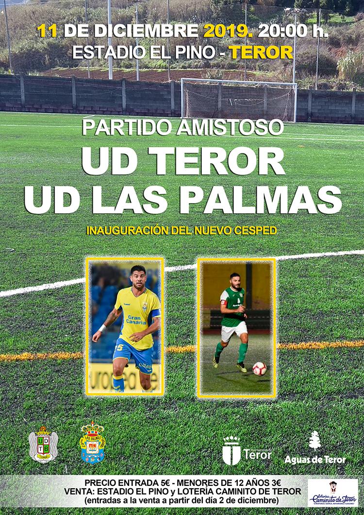 partido amistoso UD Teror - UD Las Palmas 11/12/2019